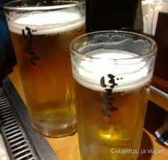 Marchando dos cervezas Asahi #japon #cerveza