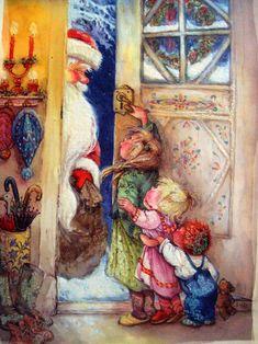 дед мороз живопись: 21 тыс изображений найдено в Яндекс.Картинках