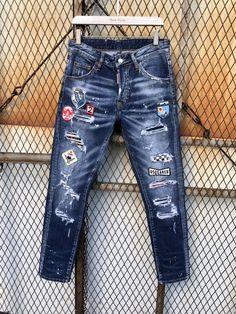 Width: 1080pxHeight: 1440pxFrame: 1 Diy Jeans, Jeans Fit, Biker Jeans, Denim Jeans Men, Jeans Style, Givenchy, Balenciaga, Fendi, Gucci
