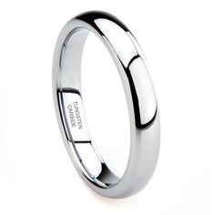 Classic Domed 5mm Tungsten Ring
