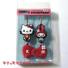 glad-shop | Rakuten Global Market: Sanrio x panson works ★ pair strap ★ retro cute! Kiki & Lala Kitty and my melody, Patty & Jimmy Cinnamoroll & USANA corresponds to a nonstandard-size mail