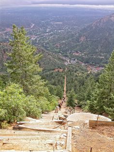 Can't get enough of this!! Manitou Incline, Colorado Springs