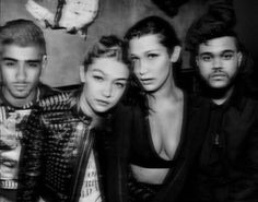 Imagen de zayn malik, gigi hadid, and the weeknd