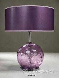 Lovely Lavender Lamp!