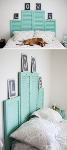 Great DIY headboard ideas can completely transform the look and feel of your bedroom!