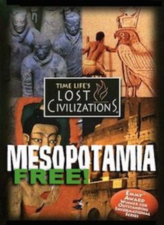 Mesopotamia - Movie Questions for Time Lifes, Lost Civilizations: Mesopotamia… History Lesson Plans, Social Studies Lesson Plans, 6th Grade Social Studies, Teaching Social Studies, World History Teaching, Ancient World History, World History Lessons, History Websites, Ancient Mesopotamia