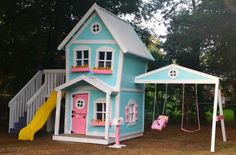 An adorable Dollhouse Style Playset by Imagine THAT! Playhouses & More...