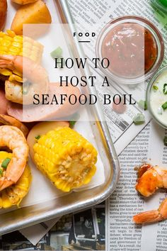 How to host a Seafood Boil / eBay
