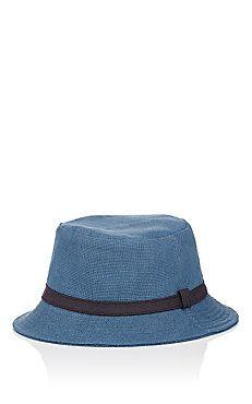 Basket-Weave Bucket Hat