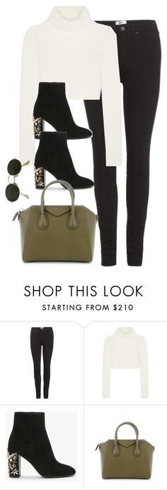 """""""Untitled #3017"""" by theaverageauburn on Polyvore featuring Acne Studios, Roberto Cavalli, Givenchy and Ray-Ban"""