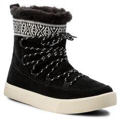 Παπούτσια TOMS - Alpine 10010903 Black Waterproof Suede/Tribal Webbing