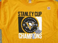 104a4a2d4 Penguin Stanley Cup Champs Tee