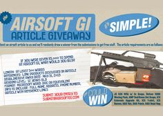 The Airsoft GI Article Give Away