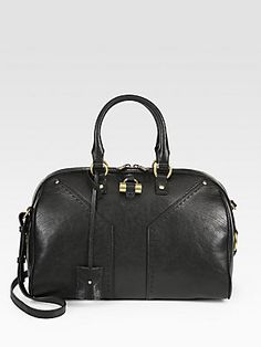 Saint Laurent Muse Bowling Bag - Black    $1,750.00