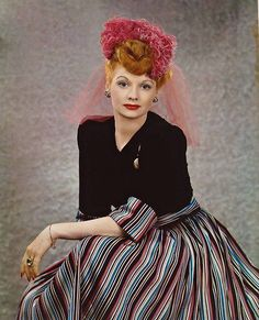Lucille Ball in colors