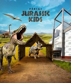 Férias JURASSIC KIDS no Central Plaza Shopping | Jornalwebdigital