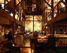 Maine, United States, North America: The White Barn Inn Restaurant at the White Barn Inn