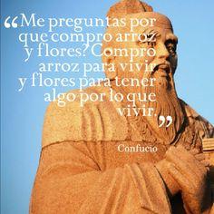 Proverbio chino de #Confucio. #CulturaChina #China #Asia   www.maimaiwenhua.com