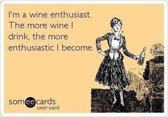 Wine!!! :) (fun cocktails funny)