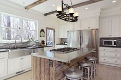 55 ideas of kitchens with an island (photo)