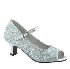 Wedding Girl's Shoes Wedding Flower Girl ShoesTeen por Pink2Blue