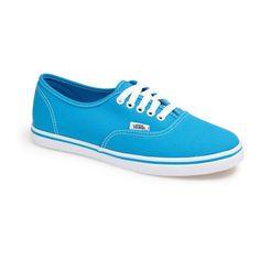 Vans 'Authentic Lo Pro - Neon' Sneaker (Women) found on Polyvore