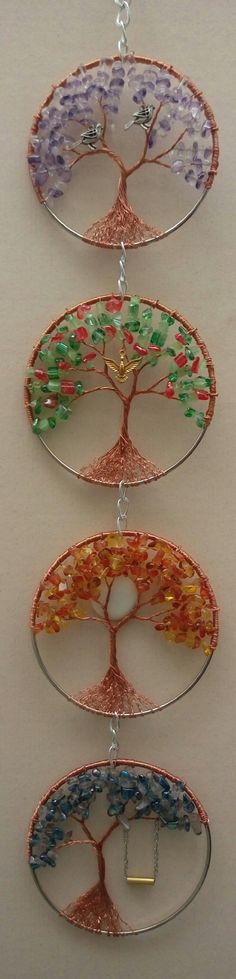 4 season wire tree
