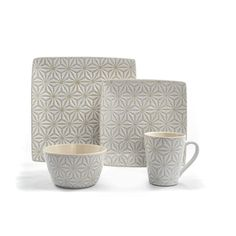 Shop for Tablescapes by Gaia Group USA Calla Ceramic 16pc Dinnerware Set. Get free delivery at Overstock.com - Your Online Kitchen