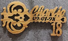 21st Birthday, Birthday Celebration, Birthday Parties, Key Diy, Cnc Projects, Diy And Crafts, Birthdays, Celebrities, Keys