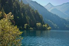 beautiful olympic peninsula and crescent lake