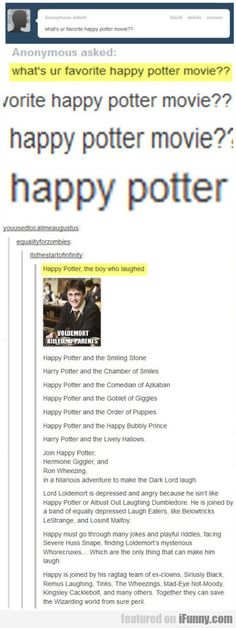 What's Ur Favorite Happy Potter Movie??