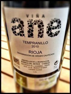 El Alma del Vino.: Bodega del Monge Garbati Viña Ane Tempranillo 2010.