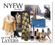 """NYFW Street Style: Day Two"" by aniyah-xxxx ❤ liked on Polyvore featuring Chanel, A.L.C., SUNO New York, WithChic, Acne Studios, Claudio Riaz, Lancôme, Kate Spade, women's clothing and women"