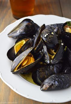 beer steamed mussels steamed in ale of your choice with garlic, butter and fresh orgegano