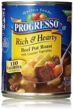 Progresso Rich & Hearty Soup, Beef Pot Roast, 18.5 Oz Progresso http://www.amazon.com/dp/B000Q5NG46/ref=cm_sw_r_pi_dp_1m6xub021WE1S