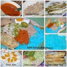 Dapur Mamasya: Nasi kerabu.....ulang tayang dari dapur lama