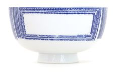 Inban Rice Bowl Rice bowl featuring the artist - Tachibana Fumio San designs with old fashioned imprimatur. Kagami - Thick blue rectangles arranged horizontally - Ref : AZKG00201. 38€