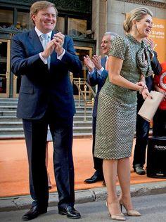 King Willem Alexander & Queen Maxima visits Chicago June 2, 2015