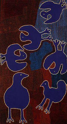 Outstation Gallery – Aboriginal Art from Art Centres Carlene Thompson - 'Tjulpu Kulunypa' Indigenous Australian Art, Indigenous Art, Aboriginal Painting, Dot Painting, Art Premier, Art Brut, Naive Art, Outsider Art, Tribal Art