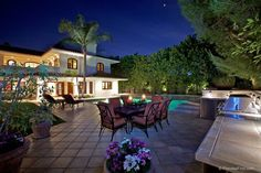 Rediscover how delightful it is to entertain in this wonderful backyard in North Tustin, Calif.