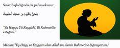 Çok Etkili Başarı Sağlayan Sınav Duası Chart, Islam