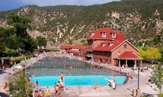 glenwood springs colorado. my first swimming pool- spent all my days here.
