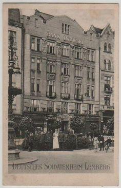 Lwów - Lemberg - Deutsches Soldatenheim