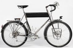 Ahearne Stainless Steel touring bike, its totally spectacular.