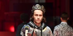 Miley Cyrus' Brother Just Made His Runway Debut in Dolce & Gabbana