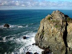 Wedding Rock at Patrick's Point CA is my favorite place in the world. I want to go back there soon!
