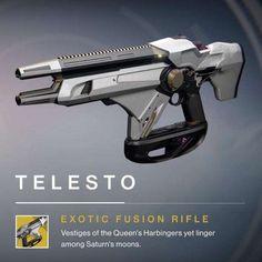Telesto-New Exotic Fusion Rifle-Taken King