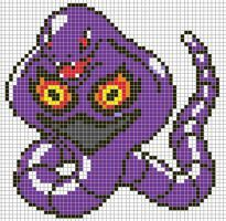 Pokemon from the game Pokemon Silver. Placed in grid format to make it easier for pixel-arters to create on minecraft, in hama form, cross-stitch or other form of non-isometric pixel art. Pokemon Craft, Art Pokemon, Pokemon Pokedex, Pokemon Perler Beads, Pearler Beads, Pokemon Cross Stitch, Pixel Art Grid, Minecraft Pixel Art, Minecraft Ideas