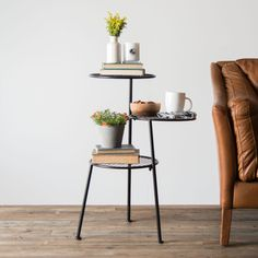 Tiered Metal Accent Table - Magnolia Market | Chip & Joanna Gaines : would make a cute plant stand