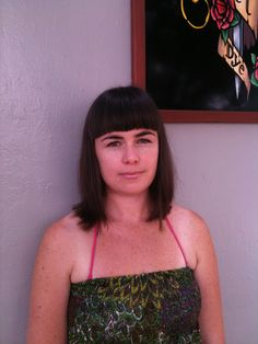 Pretty blunt full fringe for summer hair by Live & Let Dye Auckland